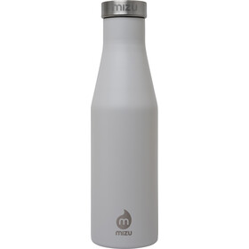 MIZU S4 Insulated Bottle 400ml with Stainless Steel Cap, gris